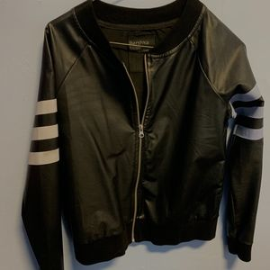 Bershka Thin Leather Jacket